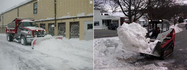 Snow removal service in Bristol, CT
