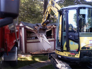 Residential demolition service in Hartford, CT