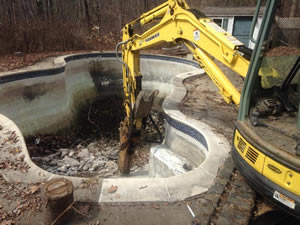 Pool Removal in Connecticut from Neighborhood Services