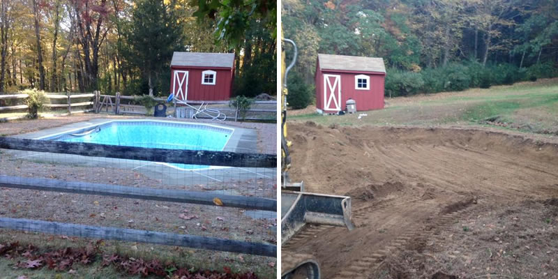 #1 Rated Pool Removal Company in Hartford CT from Neighborhood Services